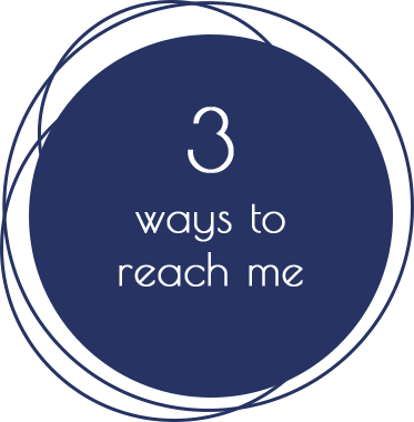 3 Ways To Reach Me